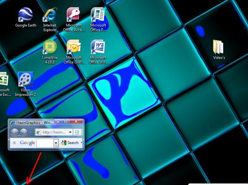 Internet Window for PrtScn